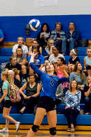 Volleyball BHS vs HFL 28-Sep-17